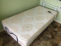 Craftmatic adjustable single bed