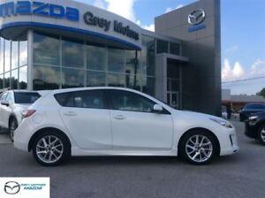 2013 Mazda MAZDA3 GT, NAVIGATION, LEATHER, SUNROOF!