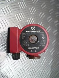 Grundfos UPS 15 - 50 / 130 Domestic (red body) Circulator Pump