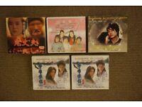 Chinese/Taiwanese/Korean Drama Series x 5