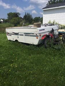 Pop up trailer for parts $100