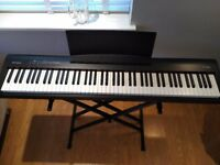 Immaculate Roland FP-30 Digital Piano including stand, stool and gig bag.