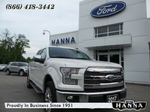 2017 Ford F-150 *NEW* SUPER CREW LARIAT*CHROME* 5.0L V8 GAS