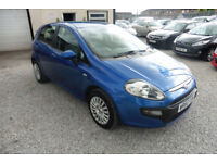 Fiat Punto Evo 1.4 8v ( s/s ) Dynamic WHITE +BEAUTIFUL+ 2010 MODEL