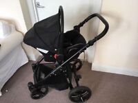 Venicci Mini Travel System (car seat, prom and pushchair)