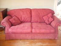 Good quality 2 and 3 seater sofas