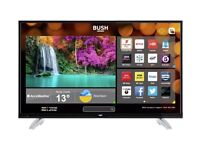 Bush 50 inch Ultra HD LED Smart TV With WiFi, Miracast & FREEVIEW Play