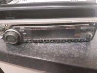 Sony Car radio as a CD player