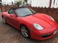 Porsche Boxster Red 2005 (55.Plate)