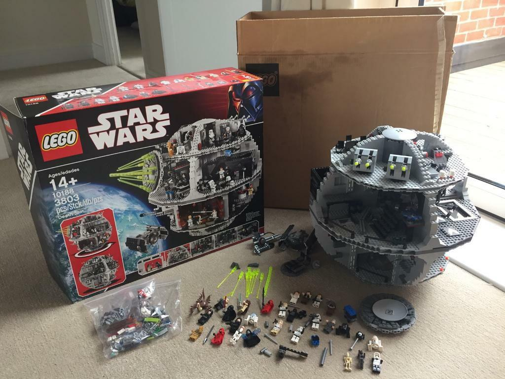 Lego Death Star 10188 Extras Used But Complete In Chelmsford