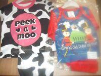 job lot baby clothes & pyjamas