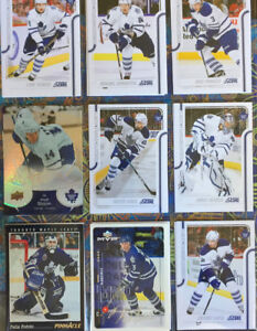 90 Different Toronto Maple Leaf Hockey Cards [Variety] - $6