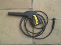 Karcher Trigger Gun & Pressure Hose.