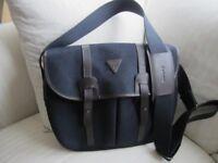 Barbour Navy Tarras Bag.