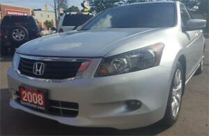 2008 Honda Accord Sdn EX-L 2 YEARS WARRANTY
