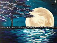 Paint Night for Team Wishes