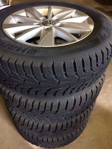 Brand new Volkswagen Golf rims and tires