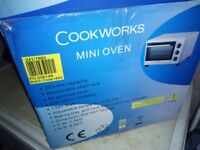 Cookworks mini oven free local delivery