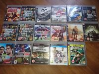 Mix of ps3 games