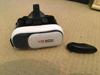 Vr headset and control for iPhone and android