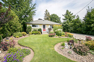 Country In The City Boasting An Oversized 75 X 269 Lot in Whitby