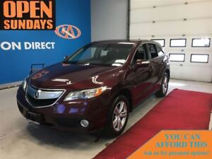 2013 Acura RDX SUNROOF! LEATHER! AWD! FINANCE NOW!