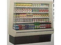 Multi deck display case
