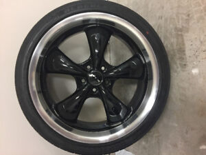 """Brand new 20"""" wheels and tires for mustang"""