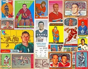 WANTED: Buying Hockey Cards 1951 - 1989