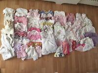 Newborn Girls Clothes Bundle 0-3 months
