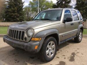 2007 Jeep Liberty, SPORT-PKG, 6/SPD, 4X4, LOADED, $6,000