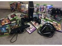 Xbox 360 with Kinect & 23 games