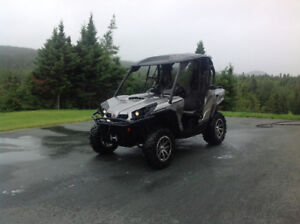 Can Am 1000 with Can Am plow