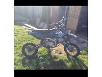 125cc welsh pit bike