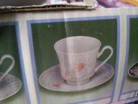 Tea Cups Set of 6