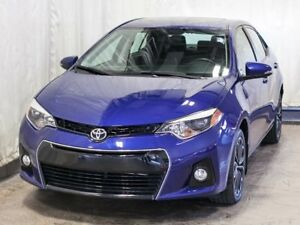 2015 Toyota Corolla S Sedan Automatic w/ Low KMs, Bluetooth, All