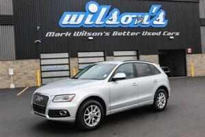2014 Audi Q5 2.0L TURBO QUATTRO KOMFORT! LEATHER! HEATED SEATS!
