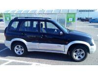 Suzuki Grand Vitara 2003, navy blue, petrol, 112K miles, excellent condition, £1150 ONO