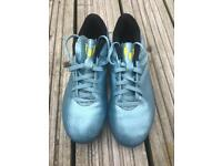 Kids messi football boots size 3