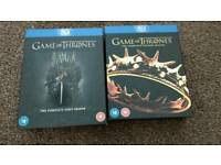 Game Of Thrones Season 1&2 Blu Ray