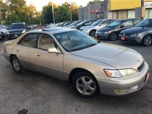 1998 Lexus ES 300 AUTO/LEATHER/SUNROOF/FULLY LOADED