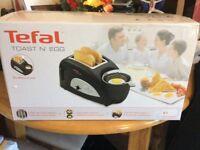 Brand new tefal toast n egg
