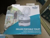royal deluxe portable toilet