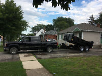 Dump Trailer 7 ton for rent or hire