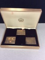 Canada 1976 - Olympic Collector Bronze Stamp Sculpture Plates EF Mississauga / Peel Region Toronto (GTA) Preview