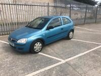 2004 Vauxhall corsa 1.0 12v full years mot