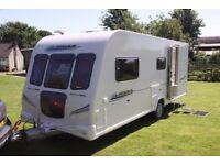 2010 Bailey Pegasus 514 4 berth caravan, excellent condition, with extras