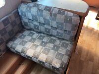 Hobby caravan twin axle seat cushions for corner sofa and dinning area