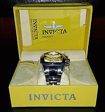 Mens invicta lupah reserve chronograph model 1686 $250