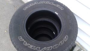 235/75r15 Goodyear wrangler tires